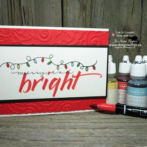 Create Bright Lightbulbs and Make a Simple Holiday Card