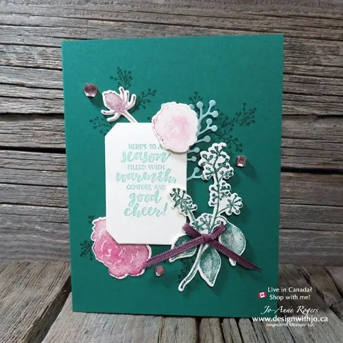 how to use stamp sets with matching dies