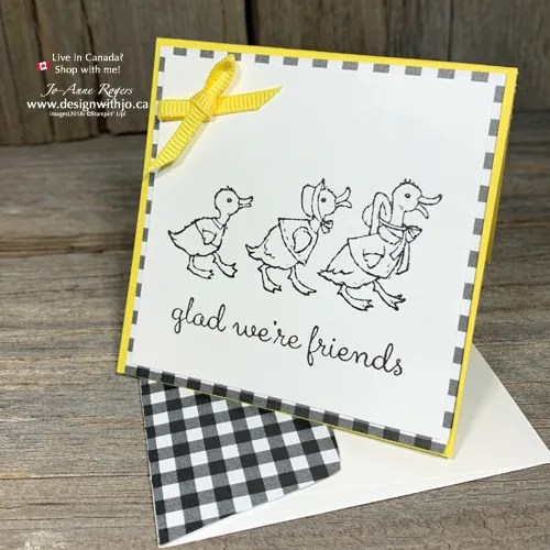 ADORABLE FAble Friends Gift Cards in My Favorite Color Combination for Greeting Cards