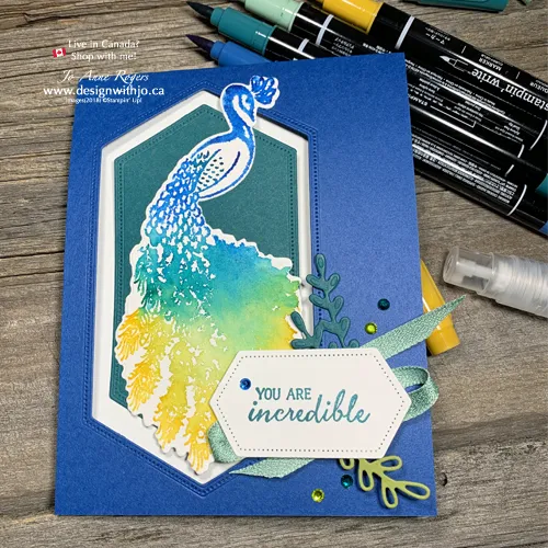 Have YOU Tried the Stampin Write Markers Watercolour Spritz Technique?