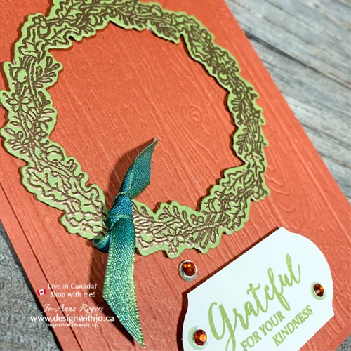 Gorgeous Fall Wreath Cards to Make