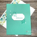 VIDEO Whats the Simplest Heat Embossed Handmade Card You Can Make?