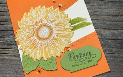 How to Colour Ribbon with Stampin Blends |VIDEO