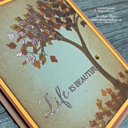 My Favourite Fall Colours for Handmade Cards - Are YOURS the Same?