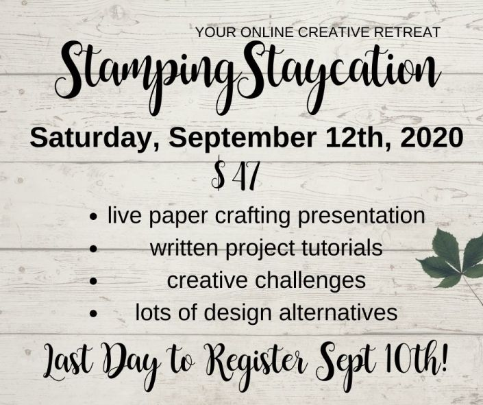 Stamping Staycation Fall 2020