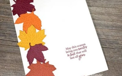 Quick and Easy Fall Cards