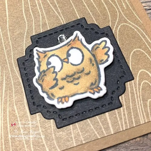 Want a Cute Halloween Card Idea Coloured with Alcohol Markers?