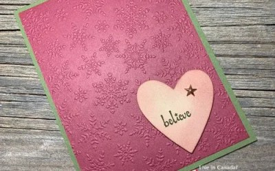 Easy Card Making Ideas for the Holidays