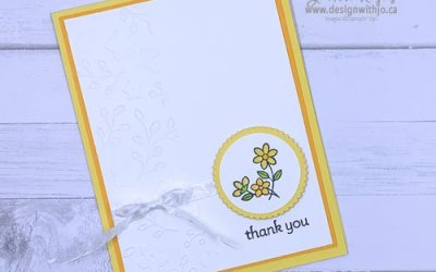 Sweet and Simple Thank You Card
