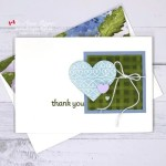 Make Rubber Stamped Thank You Cards