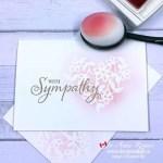 Simple Handmade Sympathy Card