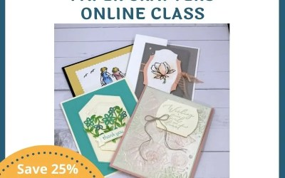 Colouring Techniques for Paper Crafters Online Class