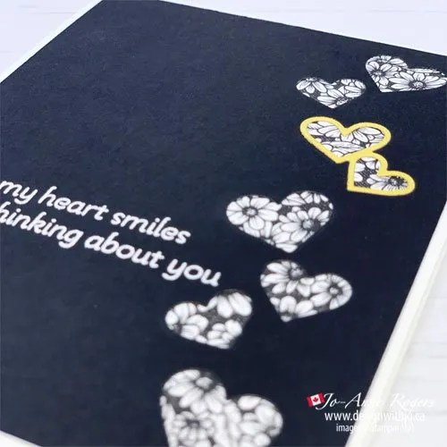 See The Video for How to Use Patterned Paper for Handmade Cards