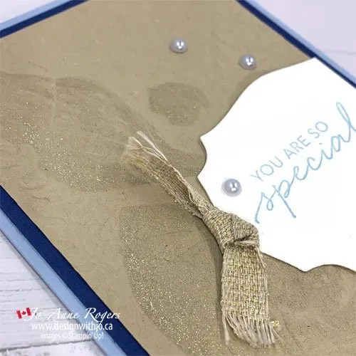 FREE Tutorial for this Simple Embossed Card