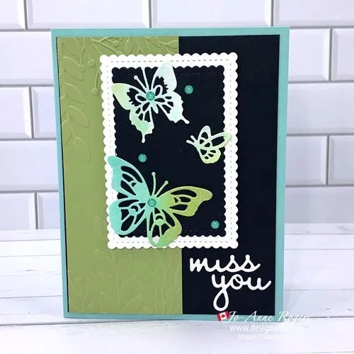 Use Watercolour Scraps for Card Making