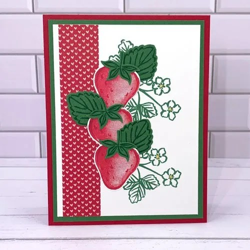 Versatile Sweet Strawberry Card Making Ideas