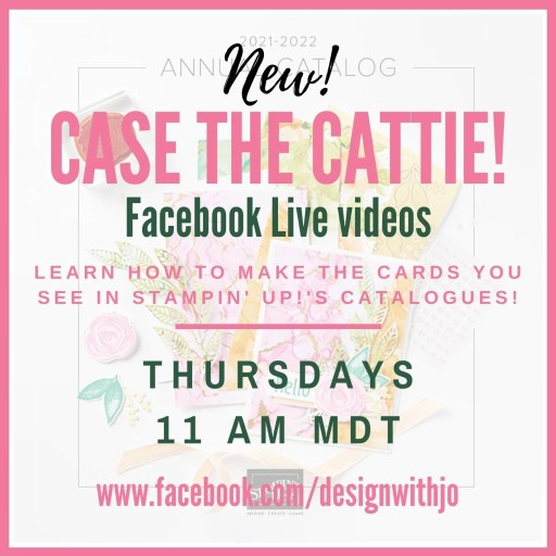 NEW Weekly Feature CASE the Cattie with Design with Jo!