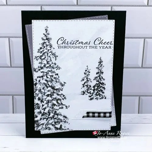 SNEAK PEEK: Classy Christmas Card Papers to Make Handmade Cards
