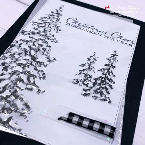 Such Pretty and Classy Christmas Card Papers from Stampin' Up!