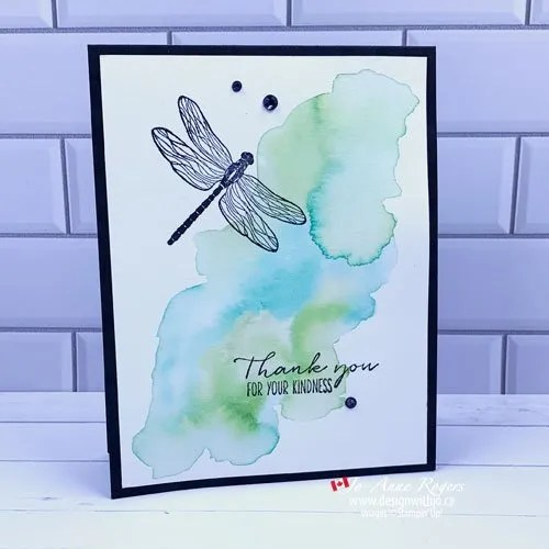 Easy Watercolour Card to Make At Home