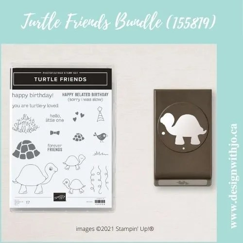 ADORABLE Handmade Cards with Turtle Friends stamps from Stampin' Up!