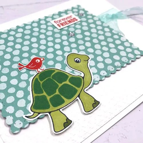 Super Cute Handmade Cards with Turtle Friends from Stampin' Up!