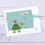 Handmade Cards with Turtle Friends Bundle from Stampin