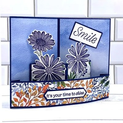 Make Cards with Daisies  Behind the Paper Interview with a Paper Crafter