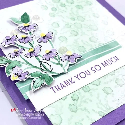 Learn How to Make aSimple Card with an Embossed Background