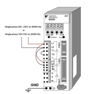 Connecting NI LabVIEW to Yaskawa SIGMA II Servo Amplifiers