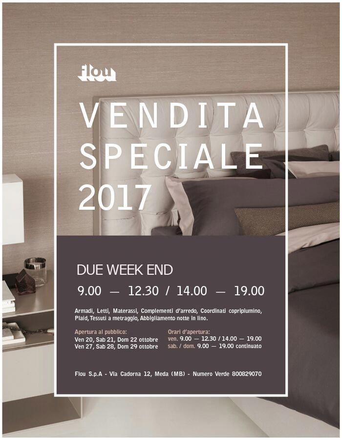 Flou vendita speciale 2017 design x all for Occasioni letti flou