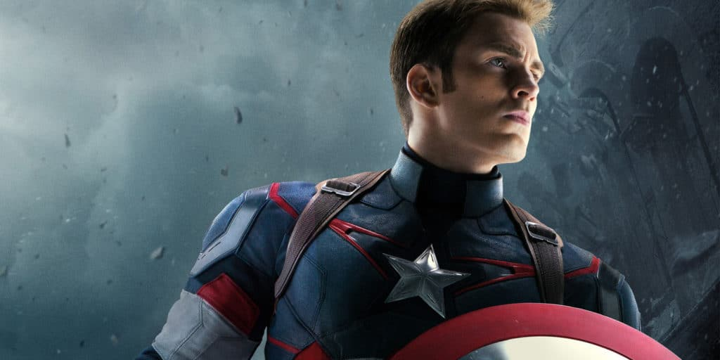 Chris Evans as Captain America Superhero