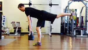 Single Leg Straight Leg Deadlift… long name amazing results!