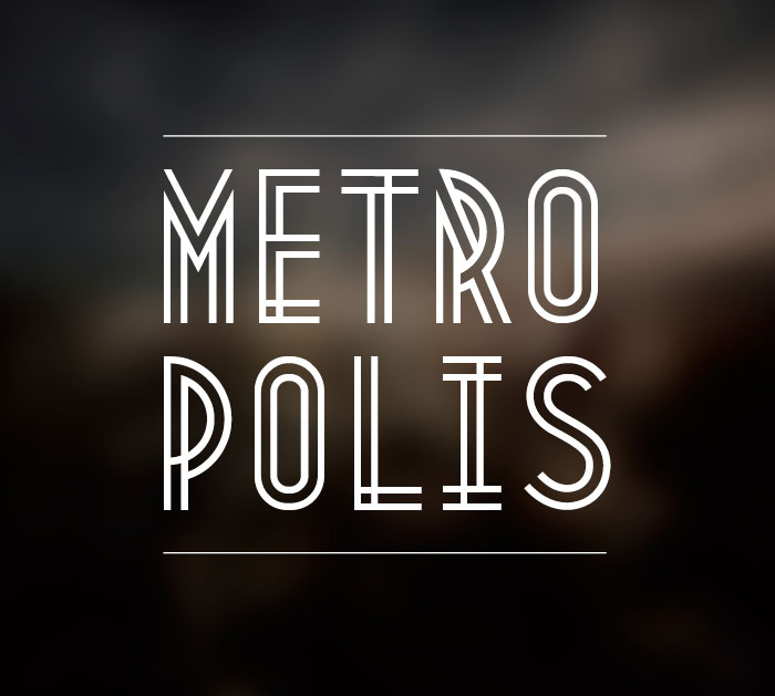 metro01 Elegant Fonts That You Should Include in Your Designs