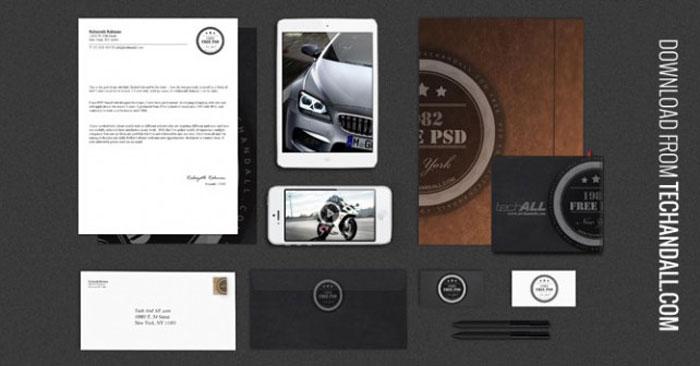Branding Identity Mock up Vol.2 Luxury