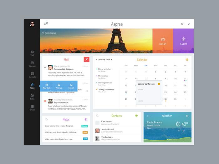 Dashboard Design Best User Dashboard UI Examples