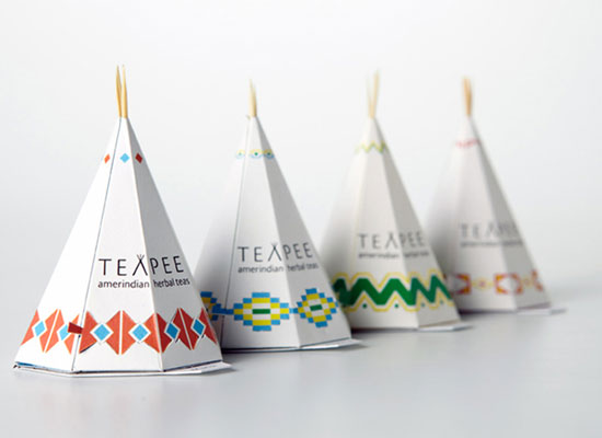 North American Teapee Package Design Inspiration