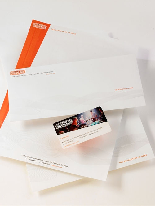 Dynasonic Identity Suite - Letterhead And Logo Design Inspiration