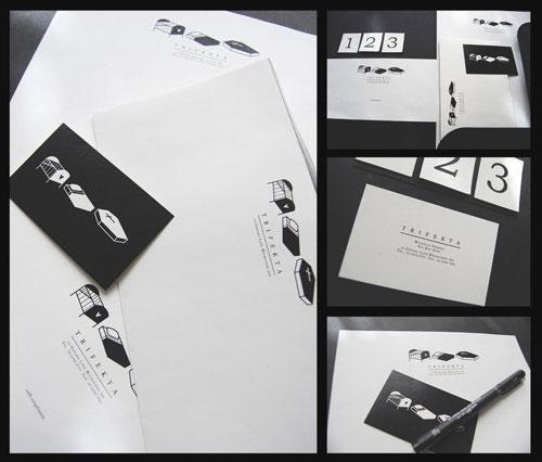 trifekta - Letterhead And Logo Design Inspiration