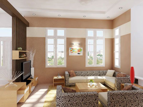 Interior Decoration Of A Small Living Room