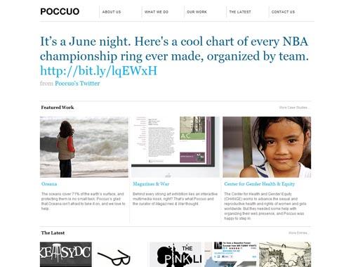 poccuo.com - Minimalist site