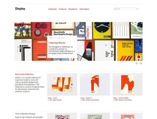thisisdisplay.org - Minimalist site