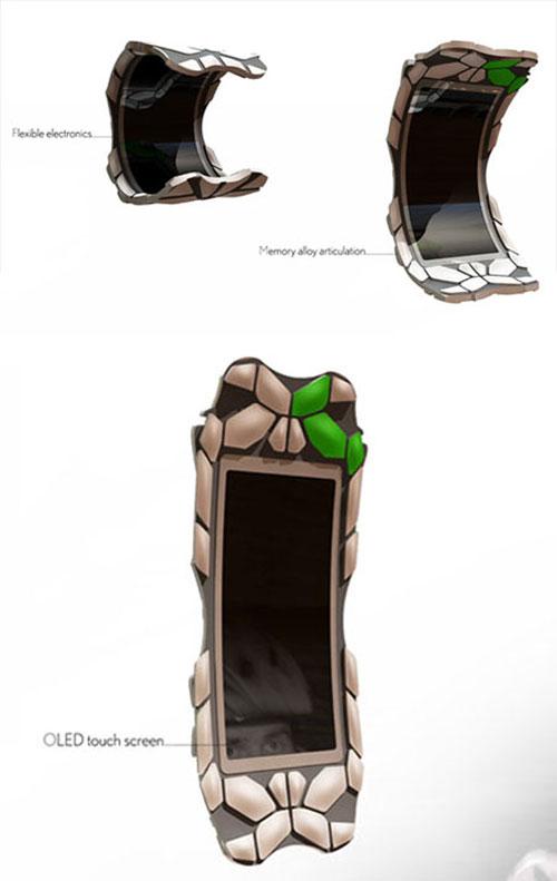 Samsung bracelet Concept Phone 3