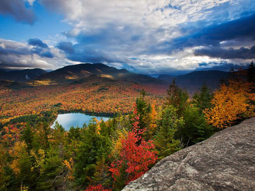 Autumn Landscape, Adirondacks Photography