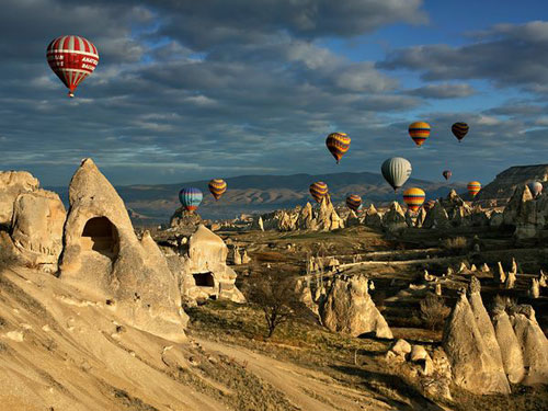 Hot Air Balloons, Cappadocia Photography