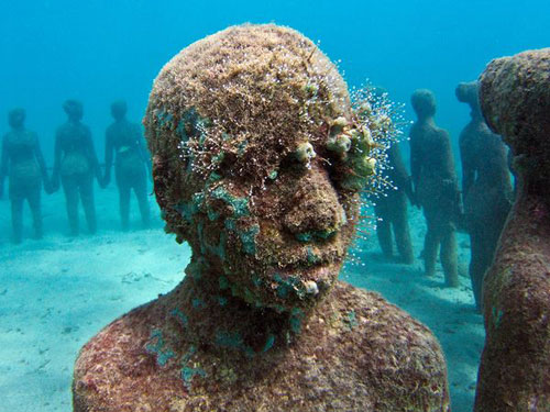 Underwater Sculpture Park, Grenada Photography
