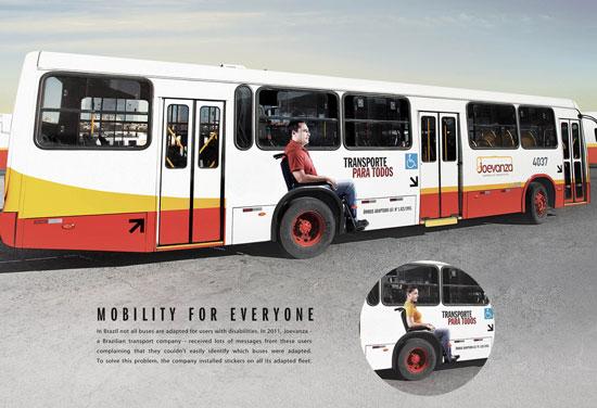 Joevanza: Mobility for Everyone Outdoor Advertising