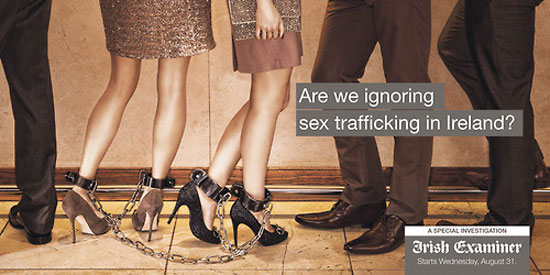 Are we ignoring sex trafficking in Ireland? Outdoor Advertising