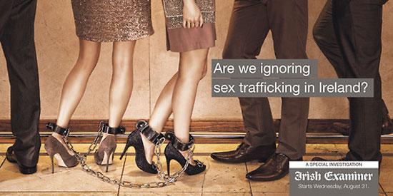 Are we ignoring sex trafficking in Ireland? Outdoor Advertising