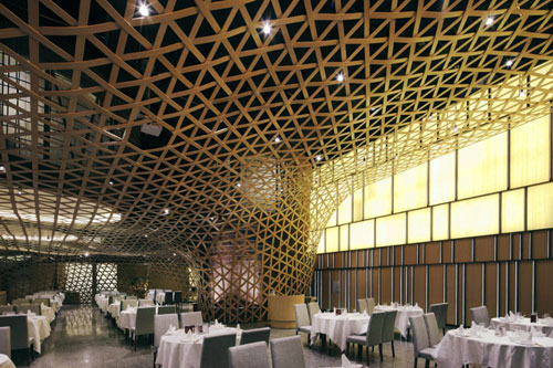Tang Palace in Hangzhou, China - Restaurants And Coffee Shops With Beautiful Interior Design